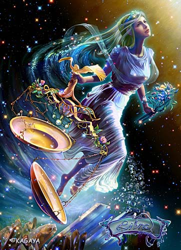 """てんびん座 ギリシア神話では、神様が人を作り出したころを""""黄金(おうごん)の時代""""... 星座宇"""